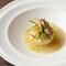 上品な味わいで、心満たされる『帆立貝のムース』