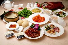 北京ダックを三種の召し上がり方で楽しめます。ベーシックなコースです。