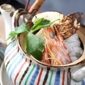 季節の食材を使った、四季折々の料理