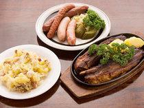ボリュームたっぷりのドイツ本格家庭料理