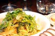 新鮮野菜のぺペロンチーノ・・・野菜たっぷり優しい味