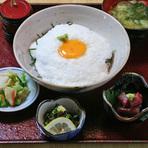 県産長芋とろろ丼(県産長芋を使ったサービスメニュー)