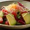 まぐろとアボカドの温玉サラダ