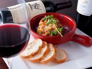 ワインにピッタリ『ズワイ蟹とアボカドのウニソースグラタン』