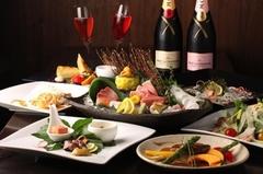 【個室料無料】和風モダンな個室で厳選素材を使用した贅沢な料理を堪能!