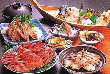 松葉ガニ、カニ料理は松花にお任せ!