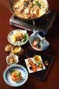 相性の良い食材「出会いもの」! 松茸と鱧をの抜群の味わいを頂ける季節限定のコースです!
