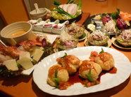 多彩なコース料理と宴会料理