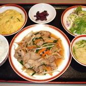 豚肉スタミナ焼定食