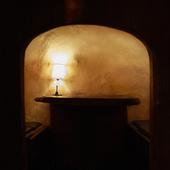温かみのある個室でしっとりと