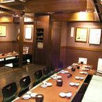 2階は小上がり30席ございます!広々店内でご宴会も当店できまり!