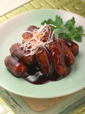 酸味とコクのバランスが絶妙な『中国鎮江黒酢の酢豚』
