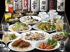 お手頃2200円なのに、料理数11品の満足低価格コース。