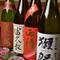 料理をひきたてる日本酒も吟味してセレクト