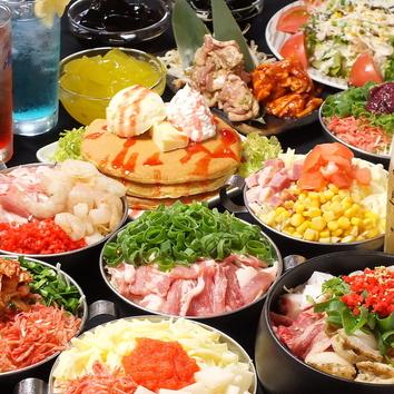 [バリューコース]90分食べ放題飲み放題コース2500円!