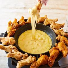 全8種の生チーズフォンデュがすべて食べ放題 ゆったり3h飲み放題付き超オトクでプレミアムな内容です!