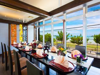 「和」と「琉球」の華麗なる饗宴 正統派会席でワンランク上のお料理をお楽しみ下さい。