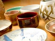 店主の趣味は陶芸