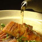 鰻から旨みが染み出してきて絶妙な味となり、ワサビのあっさり感とよくあいます。