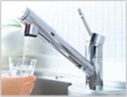 当店では浄括水器を使い、水本来の力を自然の姿に甦らせた【お水】で料理やドリンクを提供しています。