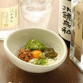 納豆ととろろ小鉢