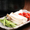 お肉といっしょに新鮮な野菜もいかがですか?