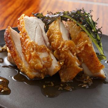 【4000円コース】大山鶏の油淋鶏ソース含む全6品&2時間飲放題付