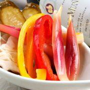 新鮮や食材を使った前菜