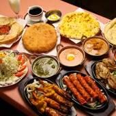 お友達を集めてインド料理のパーティーはいかがですか?