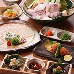 この夏にオススメ。雪月花だから味わえる、すっぽんを様々なお料理で味わえるコース内容となっております。