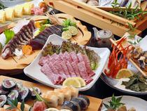 高知の新鮮魚介を本格炭火と土佐料理でおもてなし