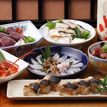 たたき亭の美味満載!2時間飲み放題付5000円コース(5名様~)