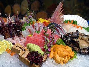 日本料理の代表格はやっぱり新鮮なお刺身です!