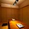 掘りごたつ式の完全個室。8部屋あります