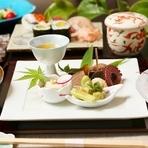 季節の旬を盛り込んだ彩豊かな味わいをお楽しみ下さい。
