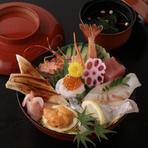 上ちらし(赤出汁付き)¥1,940