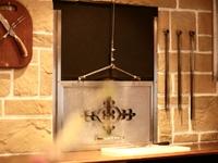 【伊藤グリル】の『炭火焼きステーキ』をつくりだす窯