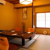 庭園を望む風情あふれる邸宅で味わう京料理。
