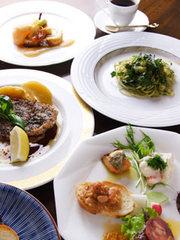 鳥取の安心で美味しい季節食材で創るベーシックなイタリアンが堪能できるフルコース。ぜひ御予約下さい。