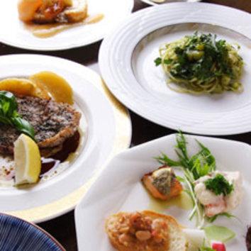 カプリコース*ダメな食材をお報せ下さい!素敵なコース料理を。