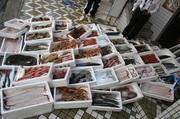 店内や玄関先の水槽には活魚もたくさん!!直前まで元気に泳ぎまわっていた魚は極上の美味しさです。