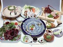 ふぐたこ丸膳(とらふぐのコース料理)10月~3月