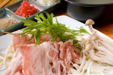 『沖縄島豚~あぐー~しゃぶしゃぶ』