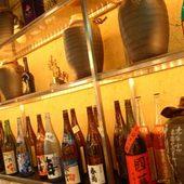 焼酎、地酒、果実酒の種類も豊富