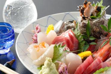 季節を味わう鮮魚のお刺身