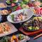 地産地消をモットーに、宮崎県産の食材を駆使した創作料理を堪能