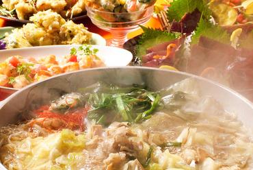 北海道産牛のもつ鍋を使用した各種宴会