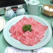 すき焼き 6300円