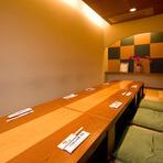 落ち着ける雰囲気のカラオケ付個室