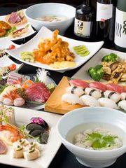 とにかくおいしい!ヘルシーでボリューム感たっぷりの和食・中華のMIXコース料理